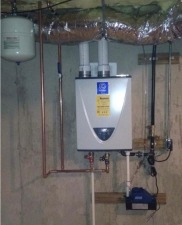 Hot Water Heaters – oil, natural and propane gas, electric